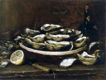 huitres, citron, fouace